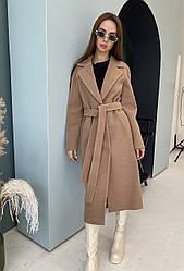 Якісне довге демісезонне жіноче пальто