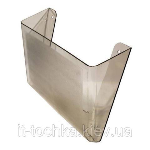 Пластиковый настенный лоток arnika 80701 дымчатый jobmax
