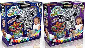"Набор для творчества ""My Color Owl-Bag"" Рюкзак-сова Danko Toys"