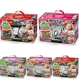 "Набор для творчества ""My Color Case"" Косметичка-раскраска Danko Toys"