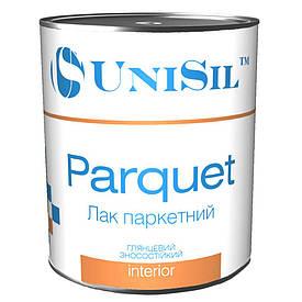 Лак паркетний Unisil Parquet 2.5 л шовковисто-матовий швидкосохнучий