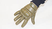 Перчатки тактические кожаные.  С шерстяной вставкой внутри