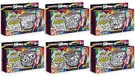 "Набор для творчества ""My color clutch фломастерами"" Пенал-раскраска Danko Toys"