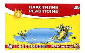 """Пластилин """"Гамма юный художник"""" 18 цветов"""
