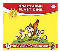 """Пластилин """"Гамма юный художник"""" 10 цветов"""
