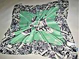 Платок Moschino шёлк, фото 2