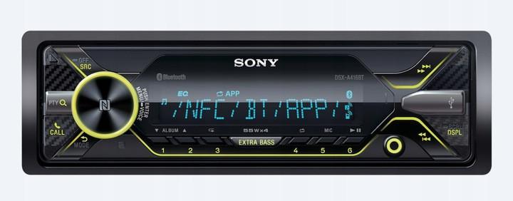 Автомагнітоли Sony DSX-A416BT