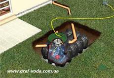 Ёмкости подземные для сбора дождевой воды