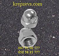 Гайка колпачковая М16 шаг 1,5 ГОСТ 11860-85, DIN 1587, фото 1
