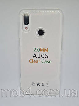 Прозорий силіконовий чохол 2 мм. для Samsung Galaxy A10s