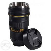 Чашка термос объектив Nikon 24-70mm f/2.8 Nikkor