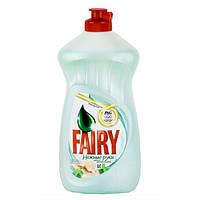 FAIRY бальзам для мытья посуды Нежные руки, чайное дерево и мята 500 мл
