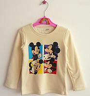 Тёплая кофта Mickey Mouse для мальчика. 120, 130 см, фото 1