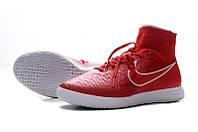 Футзалки Nike Magista X Proximo Red Street Football с носком, фото 1