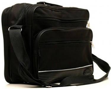 Классическая черная мужская сумка из полиэстера Wallaby 2650