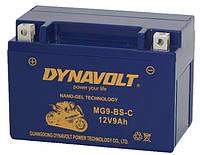 Мото гелевый аккумулятор DYNAVOLT MG9-BS (MG9-BS-C)