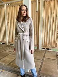 Брендова жіночий класичне пальто з італійського кашеміру