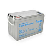 Тягова акумуляторна батарея AGM MERLION 6-DZM-100, 12V 100Ah ( 330 x 175 x 220) Q1