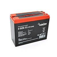 Тягова акумуляторна батарея AGM MERLION 6-DZM-32, 12V 32Ah M5 ( 263 x 75 x 170) Q2