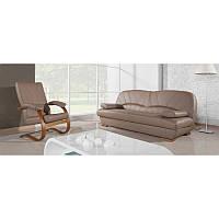 Кожаный комплект FINKA. кожаный диван + 2 кресла качалки 0bdba2bd24742