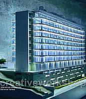 Презентационный макет офисного здания