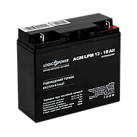 Аккумулятор кислотный AGM LogicPower LPM 12 - 18 AH