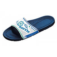 Пляжные тапочки BECO синий/белый 9247 61