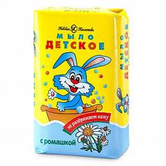 Детское мыло  с экстрактом ромашки 4*90г