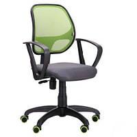 Крісло AMF Біт Color/АМФ-7 сидіння Сітка сіра/спинка Сітка салатова