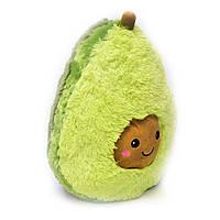 М'яка іграшка авокадік 65 см, подушка авокадо з коричневою мордочкою   мягкая игрушка авокадик, фото 1