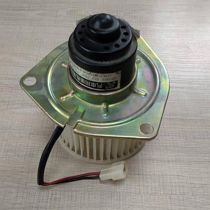 Моторчик пічки (опалення) з крильчаткою Faw 1011, ФАВ 1011, фото 2