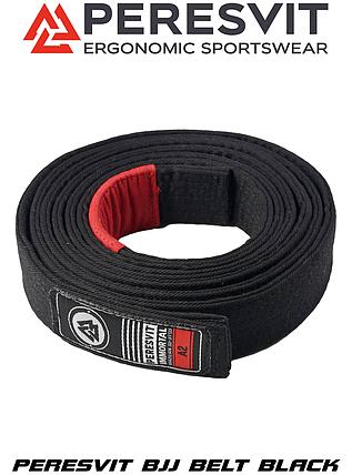 Пояс для кімоно Peresvit BJJ Black Belt, фото 2