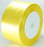 Лента атласная 4,8см   золотая ЛА48-4
