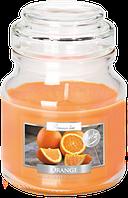 Свеча ароматизированная в стеклянном стакане с крышкой, Bispol / Orange , 28 часов горения