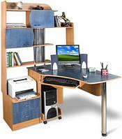 Угловой компьютерный стол ЭКСКЛЮЗИВ 6