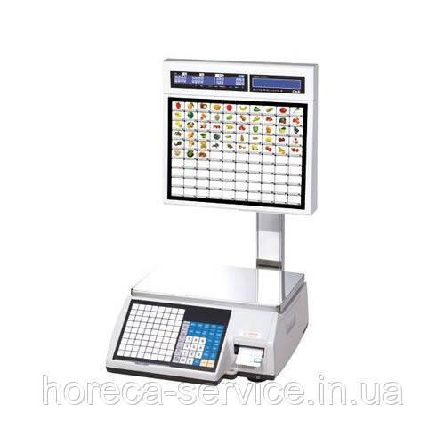 Весы электронные для самообслуживания CL5000J-IS с печатью этикеток