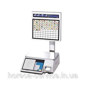 Ваги електронні для самообслуговування CL5000J-IS з друком етикеток