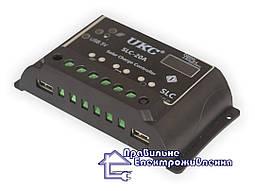 Контролер заряду UKC SLC-20A для сонячних фотомодулів