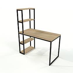 Стол для офиса в стиле Loft из натурального дерева