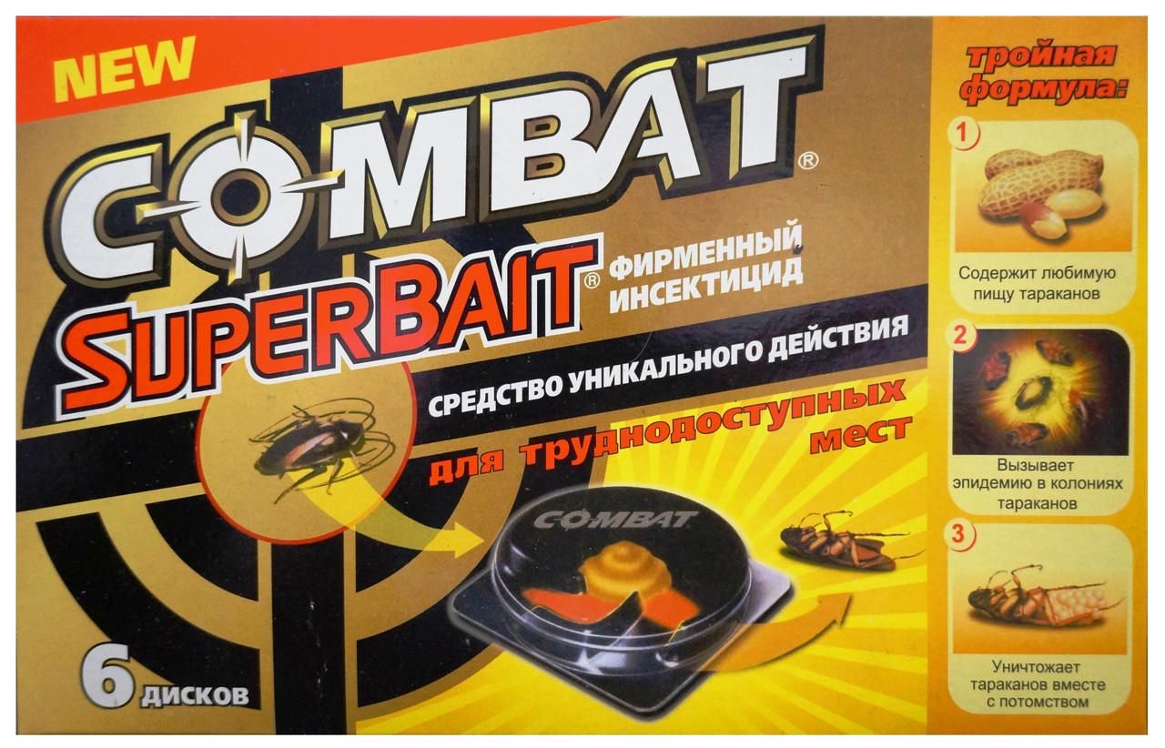 Пастка для тарганів, мурашок COMBAT (6 дисків)