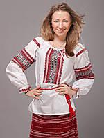 Женская сорочка вышиванка с длинным рукавом, фото 1