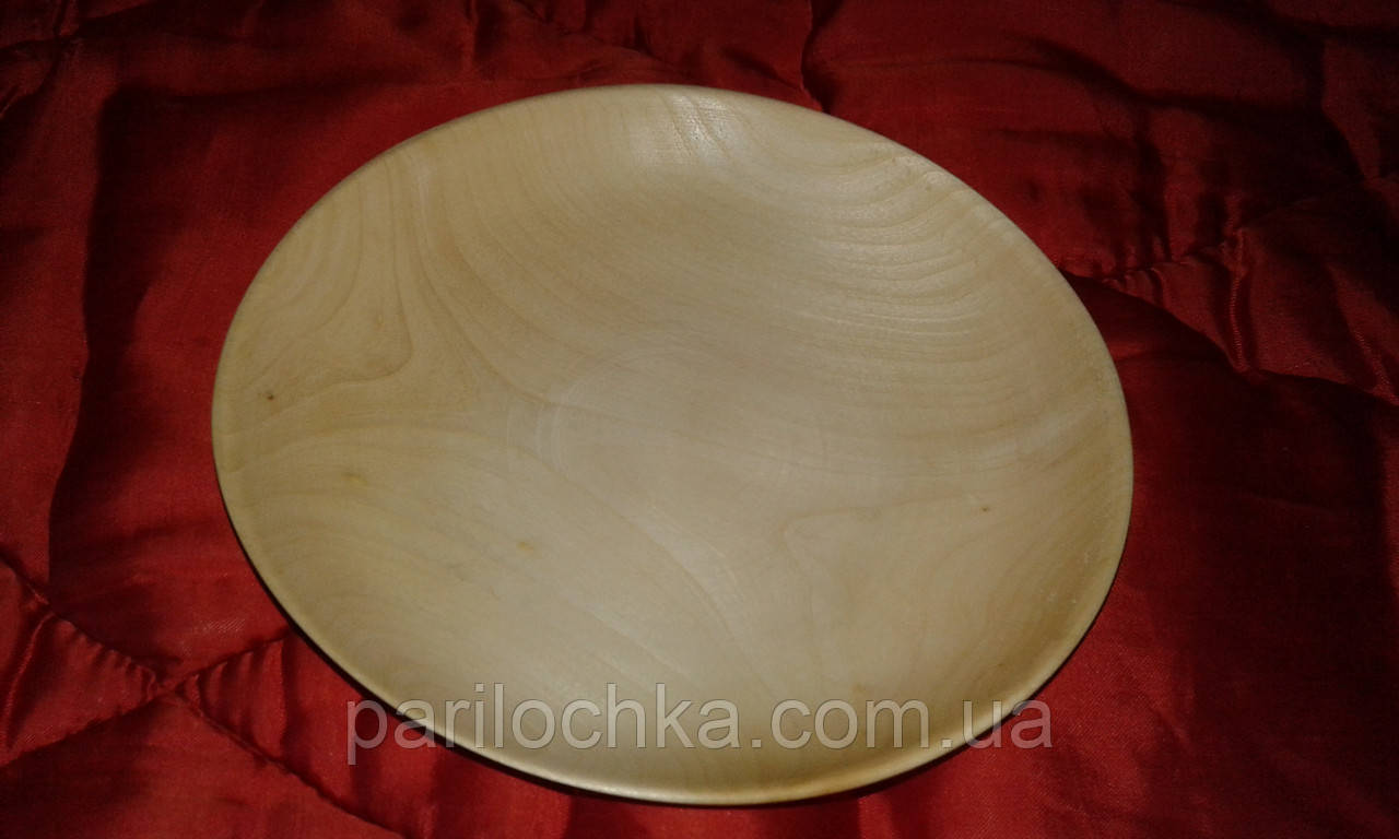 Деревянная тарель под роспись, осина