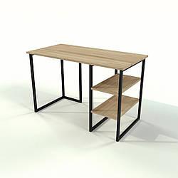 Письменный стол для офиса в стиле Loft из натурального дерева