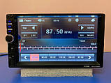 2din Магнітола Pioneer 7018 USB+SD+Bluetooth+ПУЛЬТ НА КЕРМО НОВИНКА 2021 (коротка база), фото 2