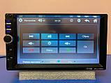 2din Магнітола Pioneer 7018 USB+SD+Bluetooth+ПУЛЬТ НА КЕРМО НОВИНКА 2021 (коротка база), фото 5