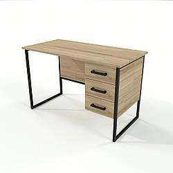 Письменный стол в стиле Loft для офиса из натурального дерева