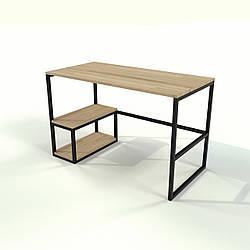 Письменный стол в стиле Loft офисный из натурального дерева