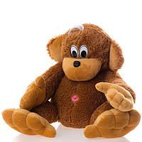 Маленькая обезьянка мягкая игрушка 40 см