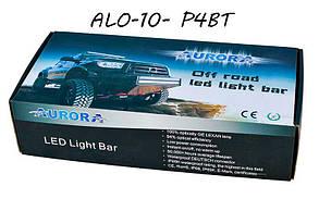 Дополнительная LED фара ALO-10- P4BT 88W 16 Oslon + 4 Cree 9-36V  IP69  8200 Люмен, Комби свет , фото 2