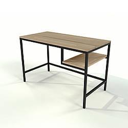 Стол в стиле лофт из натурального дерева